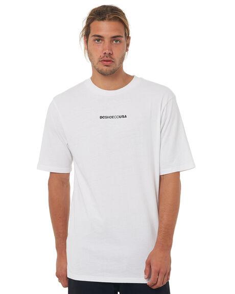 SNOW WHITE MENS CLOTHING DC SHOES TEES - UDYZT03499WBB0