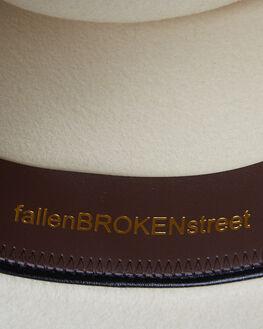 CREAM WOMENS ACCESSORIES FALLENBROKENSTREET HEADWEAR - W19-05-02CRM