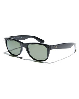 BLACK POLARIZED UNISEX ADULTS RAY-BAN SUNGLASSES - 0RB21325590158