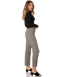 CHECK WOMENS CLOTHING LULU AND ROSE PANTS - LU23769CHECK