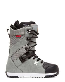GREY BOARDSPORTS SNOW DC SHOES BOOTS + FOOTWEAR - ADYO200040-GRY