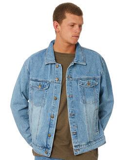 THRIFT BLUE MENS CLOTHING THRILLS JACKETS - TDP-231TETHBLU