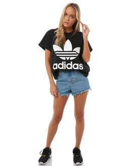 BLACK WOMENS CLOTHING ADIDAS ACTIVEWEAR - CE2436BLK