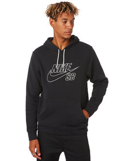 BLACK WHITE MENS CLOTHING NIKE JUMPERS - CI5844010