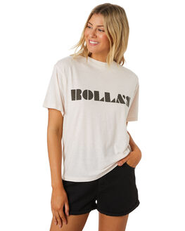 SOFT PINK WOMENS CLOTHING ROLLAS TEES - 13365-4421