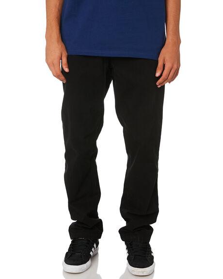 BLACK 2 MENS CLOTHING CARHARTT PANTS - I026021-89BLK