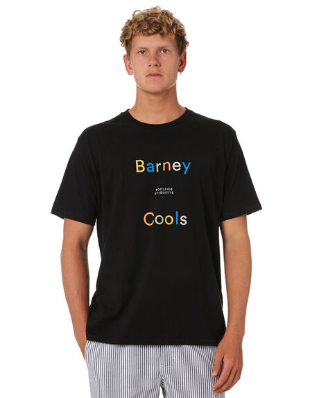 BLACK OUTLET MENS BARNEY COOLS TEES - 111-CC4BLK