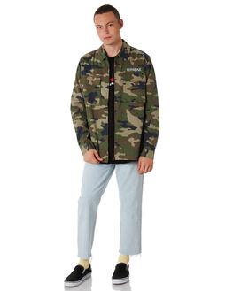 CAMO MENS CLOTHING STUSSY SHIRTS - ST087402CAMO