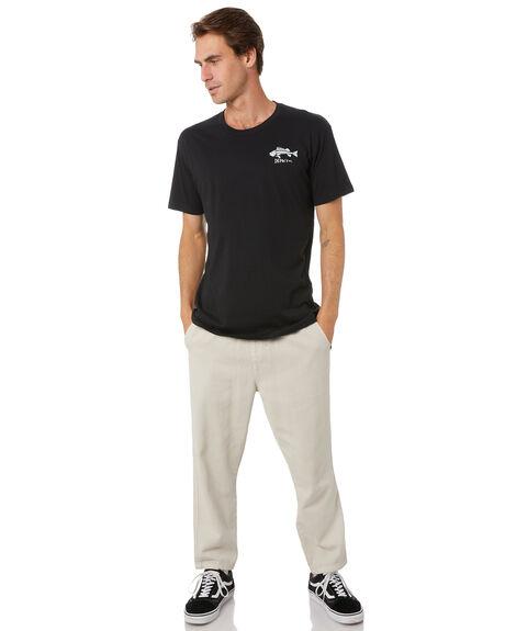 BLACK MENS CLOTHING DEPACTUS TEES - D5171002BLK
