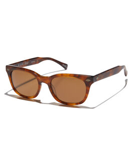ROOTBEER MENS ACCESSORIES RAEN SUNGLASSES - LOR-0223-BRN