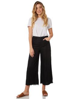 BLACK WOMENS CLOTHING THE HIDDEN WAY PANTS - H8184198BLACK