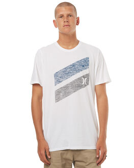WHITE MENS CLOTHING HURLEY TEES - AMTSICPST10A2