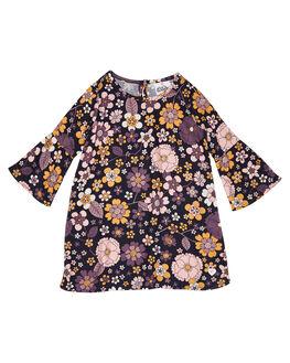 FLOWER POWER PRINT KIDS GIRLS EVES SISTER DRESSES + PLAYSUITS - 8010035PRNT