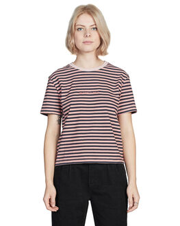 ROSE DAWN WOMENS CLOTHING QUIKSILVER TEES - EQWKT03019-MKB3