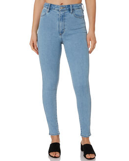 FOLKLORE BLUE WOMENS CLOTHING RIDERS BY LEE JEANS - R-551593-KN2