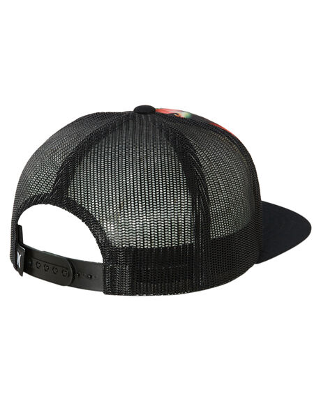 BLACK MULTI KIDS BOYS HURLEY HEADWEAR - CT1714011