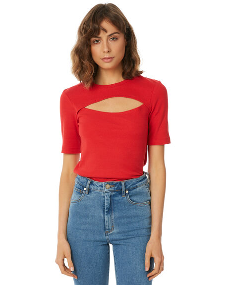 RED WOMENS CLOTHING THE FIFTH LABEL TEES - 40180455RED