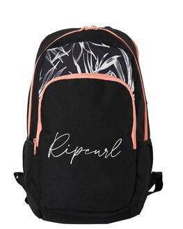 BLACK WHITE WOMENS ACCESSORIES RIP CURL BAGS + BACKPACKS - LBPPA10431