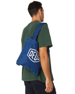 NAVY MENS ACCESSORIES DEUS EX MACHINA BAGS + BACKPACKS - DMP77431NVY