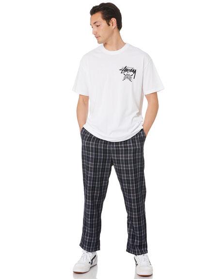 NAVY MENS CLOTHING STUSSY PANTS - ST007601NVY