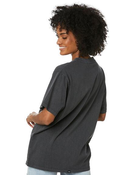 MERCH BLACK WOMENS CLOTHING THRILLS TEES - WTR20-111BMMBLK