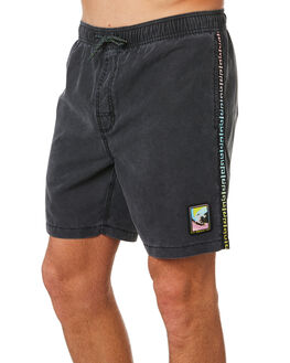 BLACK MENS CLOTHING RIP CURL BOARDSHORTS - CBOBQ90090