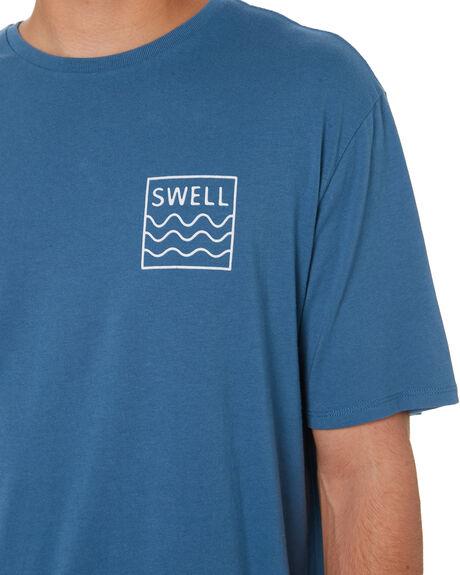 STORM BLUE MENS CLOTHING SWELL TEES - S5201021SBLU