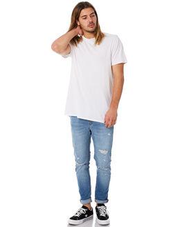 CHALK INDIGO MENS CLOTHING A.BRAND JEANS - 808922613