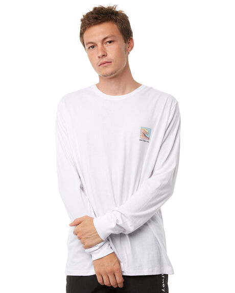 WHITE MENS CLOTHING BARNEY COOLS TEES - 146-CR1WHT