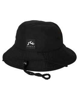 BLACK KIDS BOYS RUSTY HEADWEAR - HHR0109BLK