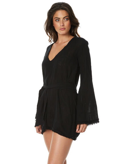 BLACK WOMENS CLOTHING RUE STIIC DRESSES - JA1723YBLK