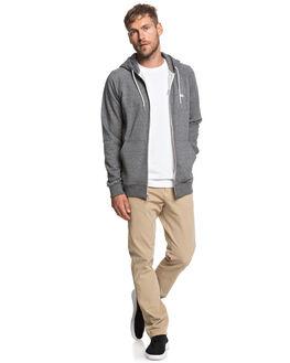 DARK GREY HEATHER MENS CLOTHING QUIKSILVER JUMPERS - EQYFT03849-KRPH
