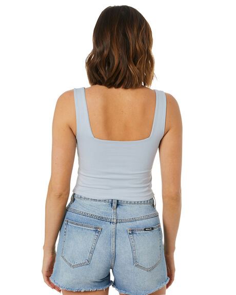BLUE MIST WOMENS CLOTHING SWELL SINGLETS - S8221006BLUMS