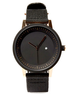 BLACK GOLD NATO MENS ACCESSORIES SIMPLE WATCH CO WATCHES - SW03-08NLKGD