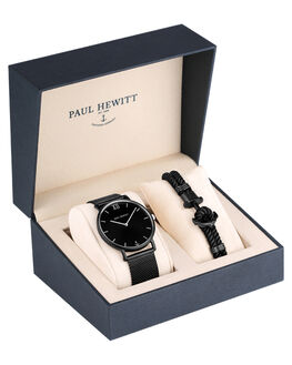 BLACK SUNRAY BLACK MENS ACCESSORIES PAUL HEWITT WATCHES - PH-PM-4BSBSB