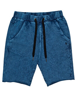 NAVY CRUSH KIDS BOYS ALPHABET SOUP SHORTS - AS-KFC8341NVYC