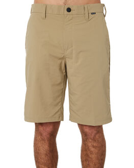KHAKI MENS CLOTHING HURLEY SHORTS - 895077235