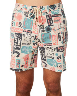 MULTI MENS CLOTHING DEUS EX MACHINA BOARDSHORTS - DMS82668AMUL