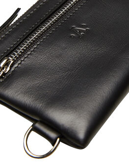 BLACK MENS ACCESSORIES ATLAS LIFESTYLE CO WALLETS - ATL-WO3BLK