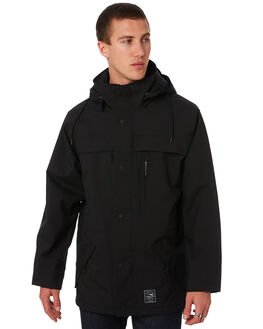 BLACK MENS CLOTHING DEPACTUS JACKETS - D5171381BLACK