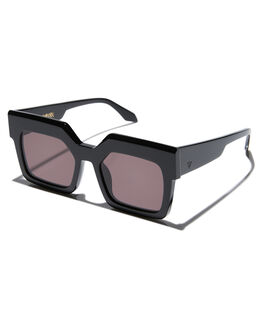 GLOSS BLACK MENS ACCESSORIES VALLEY SUNGLASSES - S0388GBLK