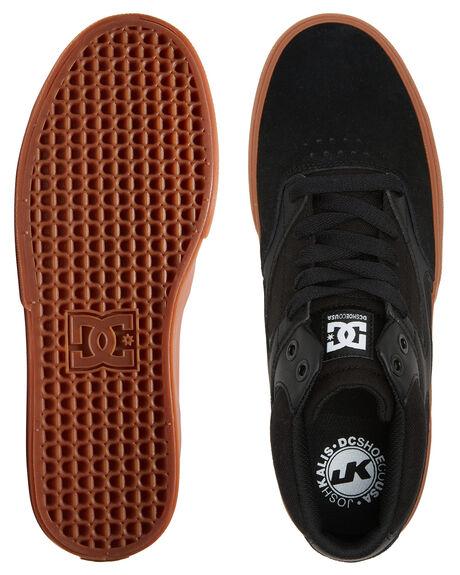 BLACK/BLACK/GUM MENS FOOTWEAR DC SHOES SNEAKERS - ADYS300622-KKG