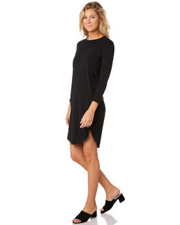 BLACK WOMENS CLOTHING SWELL DRESSES - S8189443BLACK