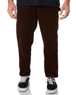 BROWN MENS CLOTHING OBEY PANTS - 142020139BRN
