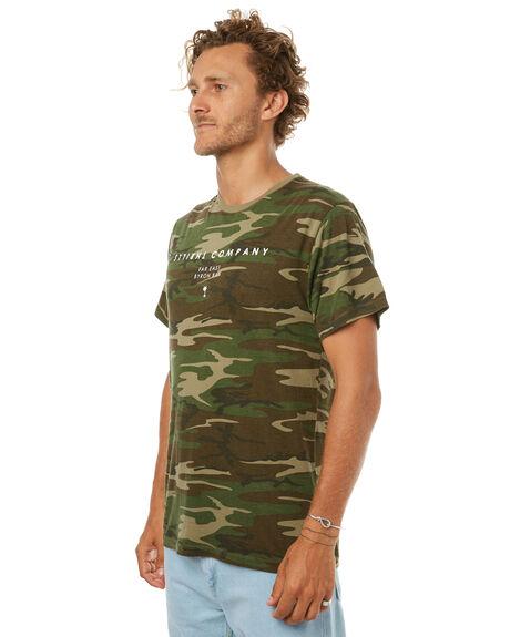 CAMO MENS CLOTHING THRILLS TEES - SMU-145CAMO
