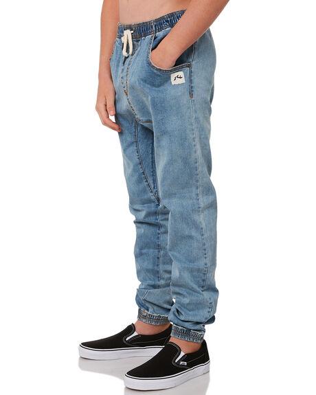 THRIFTED BLUE KIDS BOYS RUSTY PANTS - PAB0282THB