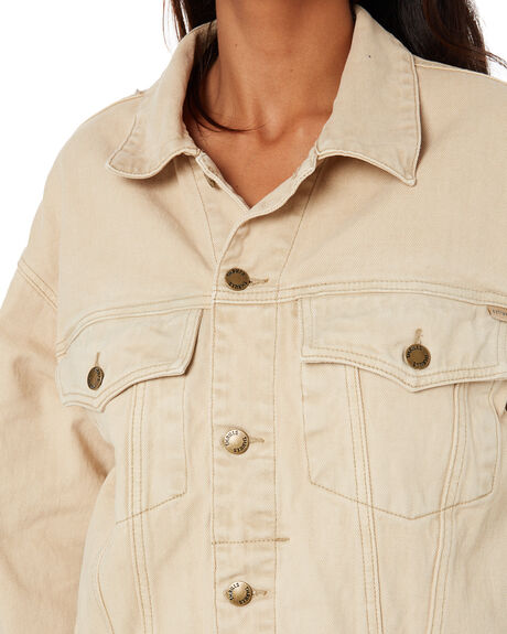 DESERT SAND WOMENS CLOTHING THRILLS JACKETS - WTDP-219JDSAND