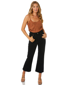 COGNAC WOMENS CLOTHING NUDE LUCY FASHION TOPS - NU23754COG