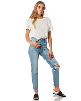 MISS PAMELA BLUE WOMENS CLOTHING WRANGLER JEANS - W-951475-LP0