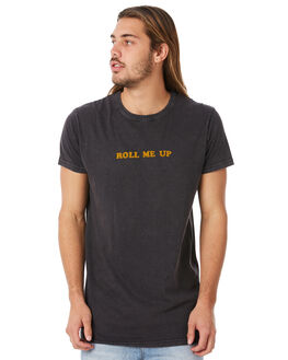 FADED BLACK MENS CLOTHING ROLLAS TEES - 15416089